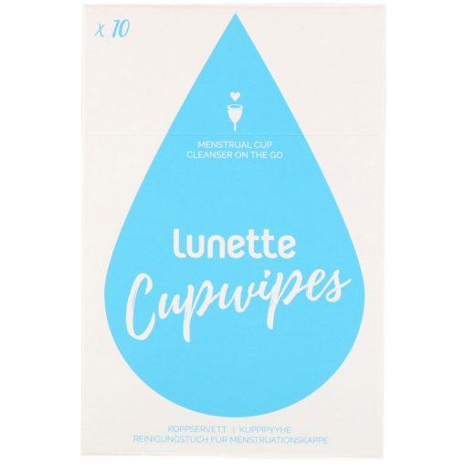 Lunette Menstrual Cupwipes